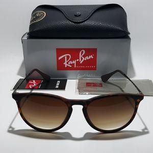 Ray Ban Erika RB4171 Matte Tortoise Sunglasses